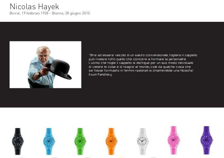 """Nicolas HayekBeirut, 19 febbraio 1928 - Bienne, 28 giugno 2010.                                                """"Oltre ad e..."""