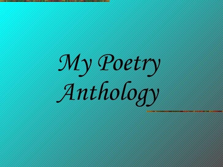 Nicola\'s Poetry Anthology