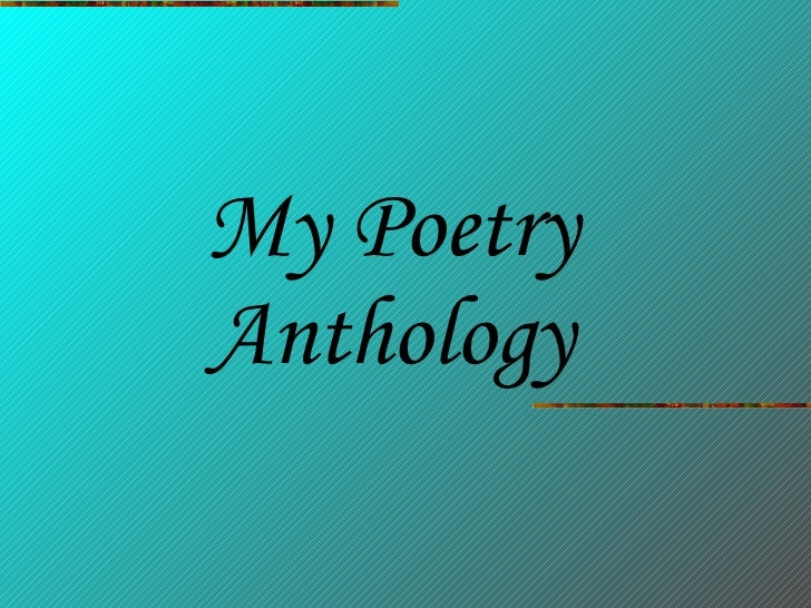 Nicola\'s Poetry Anthology