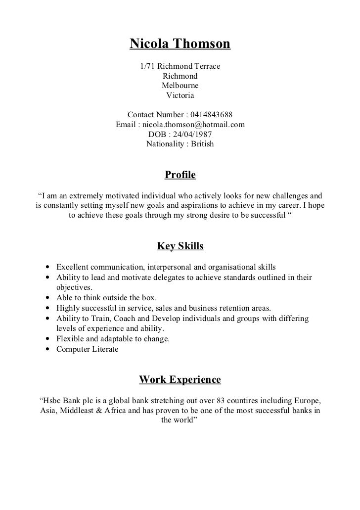 how to set a resume