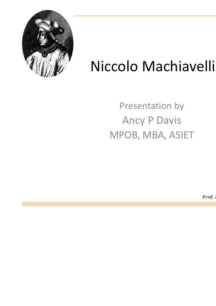 an analysis of the prince by nicolo machiavelli The prince : the classic analysis of statesmanship and power (niccolo  machiavelli) at booksamillioncom witty, informative, and devilishly shrewd, the  prince.