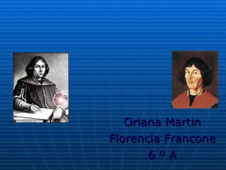 Oriana Martin Florencia Francone 6 º A