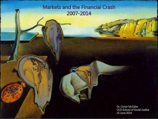 Practical Economics NICVA June 2014 - Markets and the Financial Crash