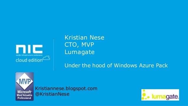 NIC - Windows Azure Pack - Level 300