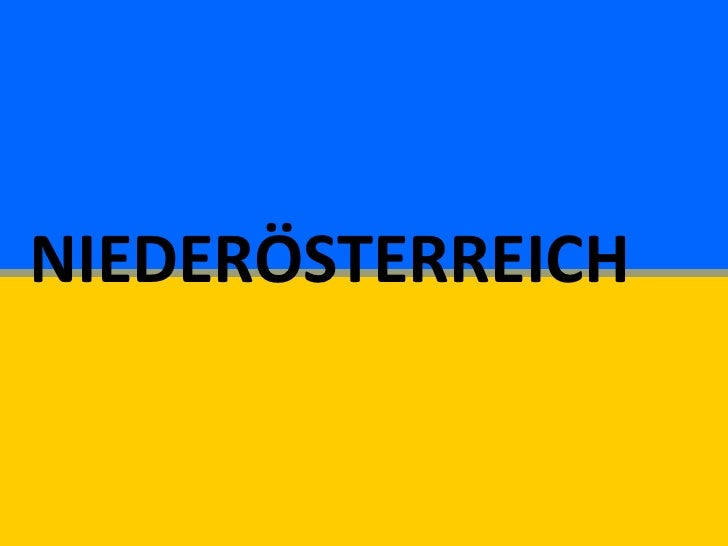 Niederosterreich