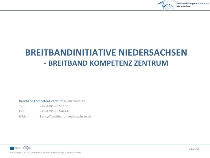 Breitbandinitiative Niedersachsen