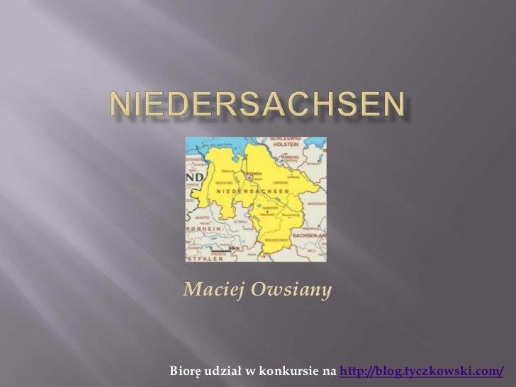 Maciej OwsianyBiorę udział w konkursie na http://blog.tyczkowski.com/