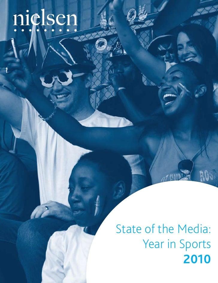 Reporte de Medios Nielsen: Deportes en el año 2010