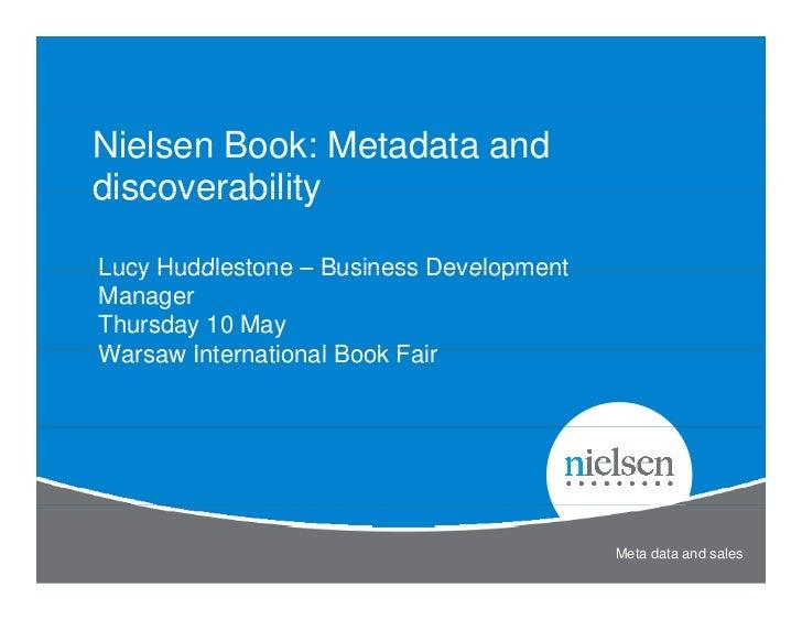 Nielsen books -wtk2012presentation--abe-ips