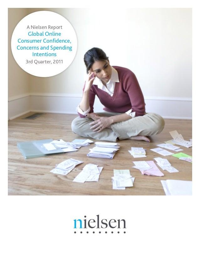 Nielsen global online consumer confidence october 2011