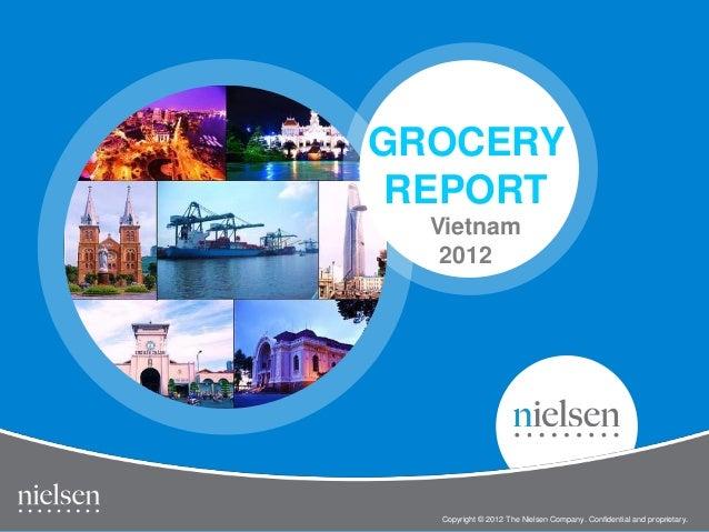 GROCERY REPORT  Vietnam   2012                                                              1                  Vietnam Gro...