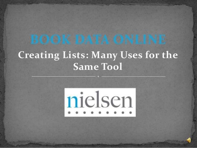 Nielsen presentation