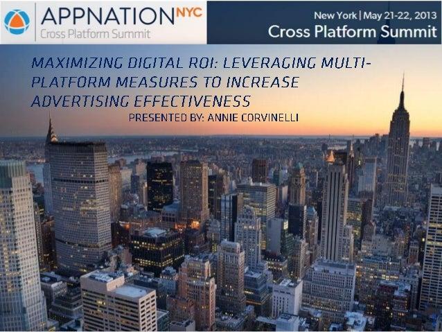 Nielsen's maximizing digital roi bootcamp presentation