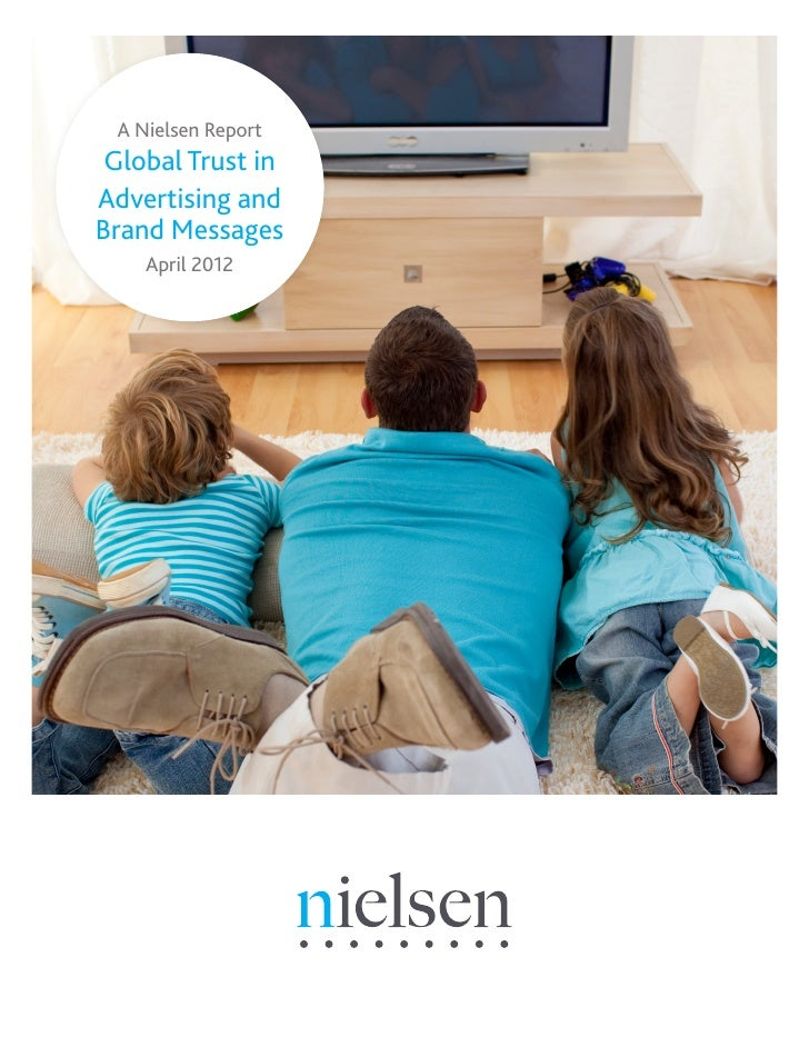 Trust in advertising global report April 2012
