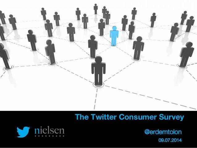@TwitterAds | Confidential The Twitter Consumer Survey  @erdemtolon 09.07.2014