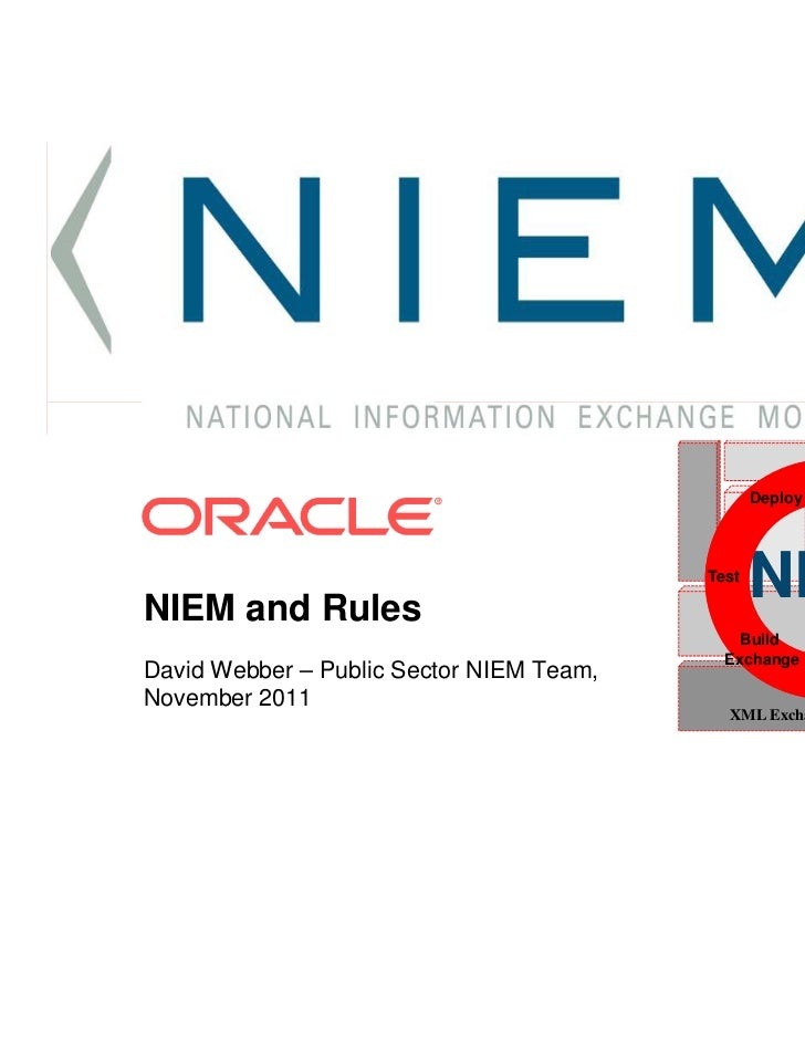 NIEM Overview Rule Ml November 2011