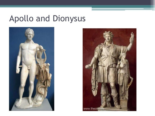 The Dionysian and the Apollonian in Nietzsche: The Birth of Tragedy