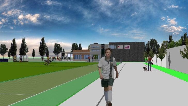 Nieuwbouw Clubhuis Hockeyvereniging MYRA Amstelveen 2008