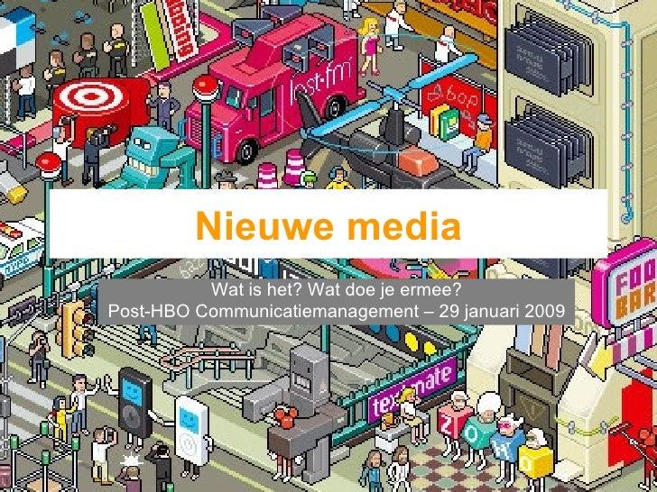 Nieuwe Media   Post Hbo