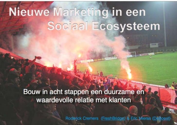 Nieuwe marketing in een sociaal ecosysteem