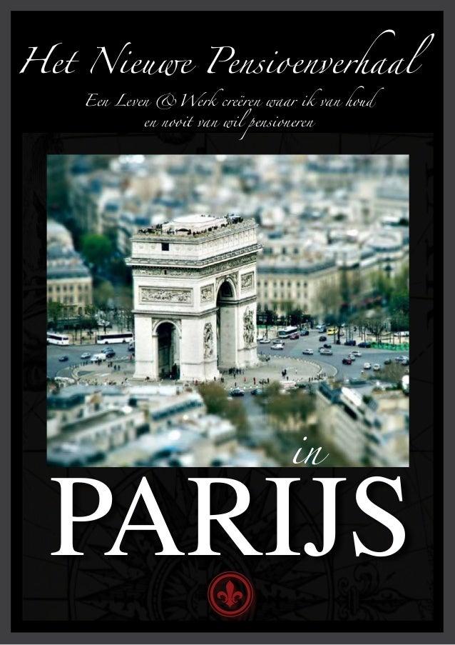 Het Nieuwe Pensioenverhaal in Parijs Promo
