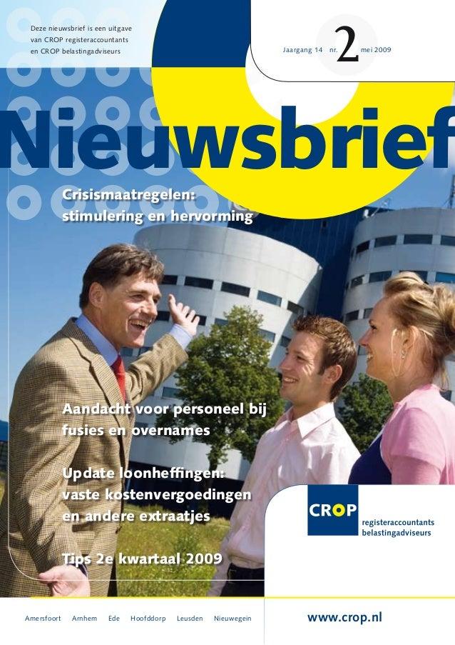 CROP Nieuwsbrief 2 2009