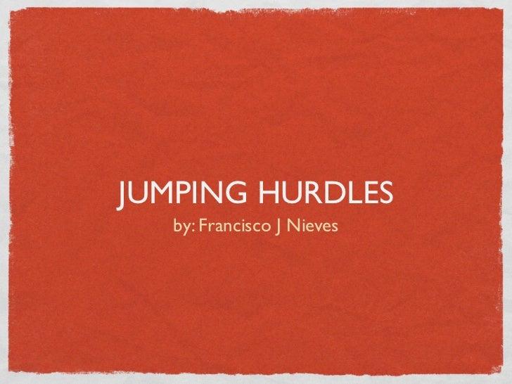 Nieves,f jumping hurdleskeynote