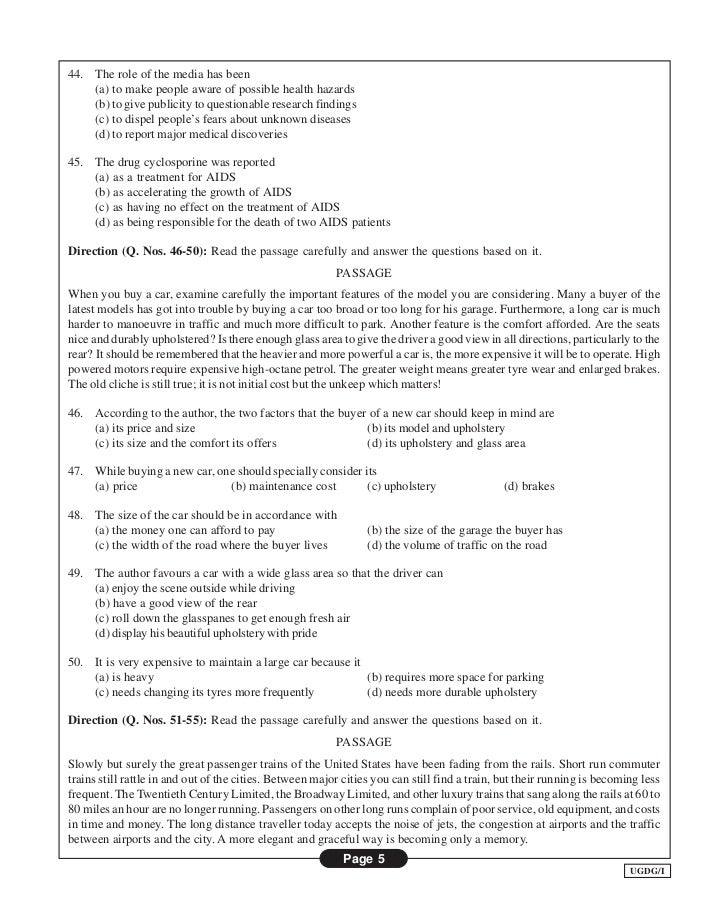 Research aptitude test model papers