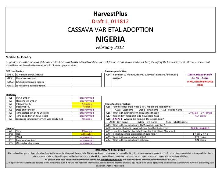 HarvestPlus                                                                                        Draft 1_011812         ...