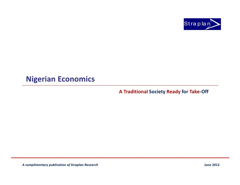 Nigerian economics vol 6. electricity sector update