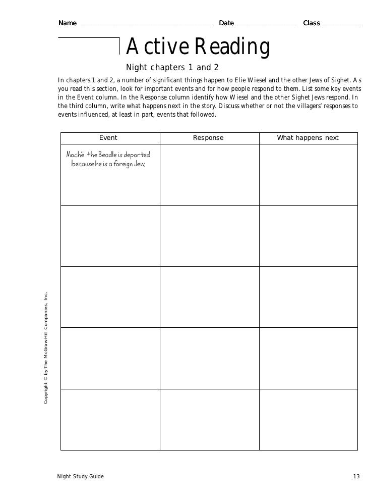 A Study Guide - Holocaust Education Resource Council