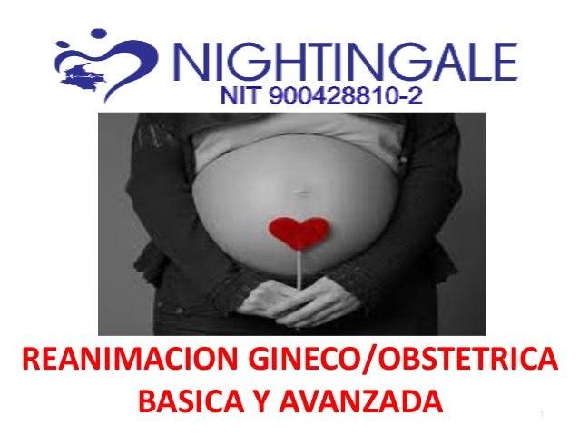 REANIMACION GINECO/OBSTETRICA BASICA Y AVANZADA 1