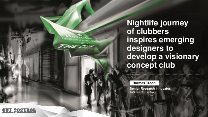 Nightlife journey of clubbers inspires emerging designers to develop a visionary concept club (by Thomas Troch)
