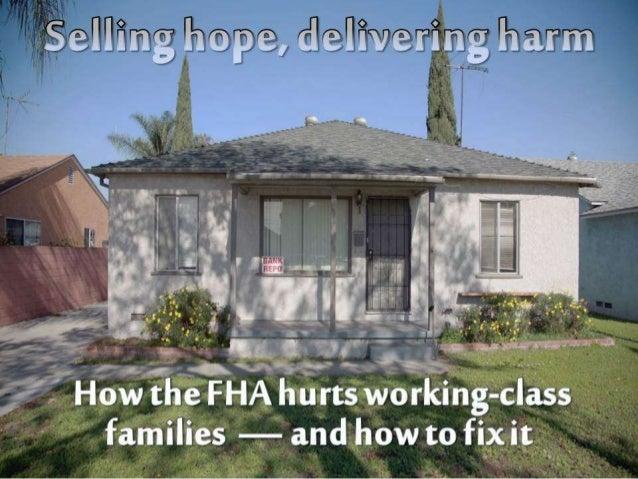 Nightmare at FHA