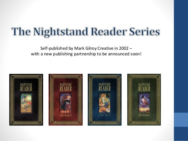Self-published by Mark Gilroy Creative in 2002 – with a new publishing partnership to be announced soon!