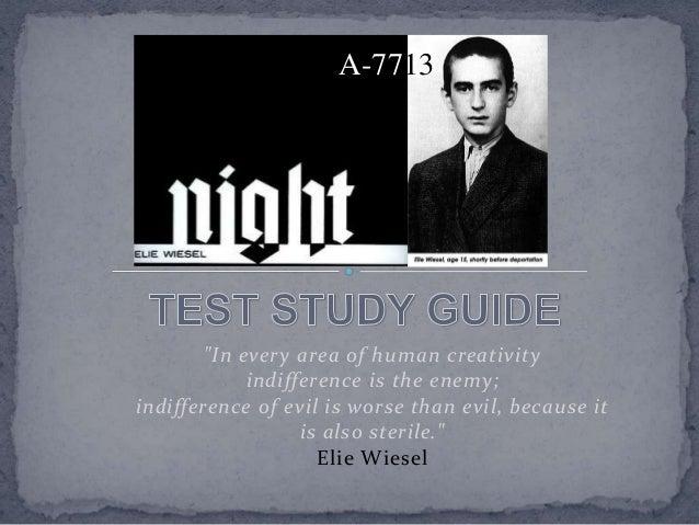 Night Test Study Guide - Riverside Local Schools