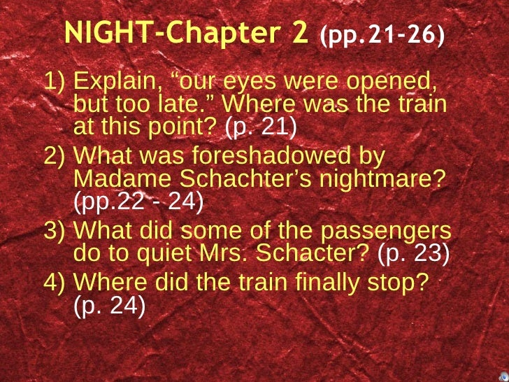 night study questions Night study questions with answers night study questions with answers - title ebooks : night study questions with answers - category : kindle and ebooks pdf.