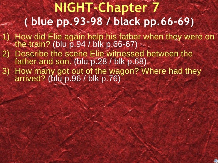 night essay example examples of night