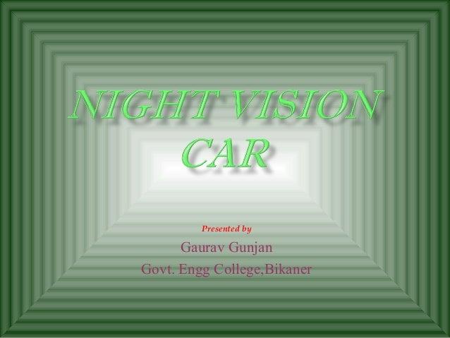 Presented by      Gaurav GunjanGovt. Engg College,Bikaner