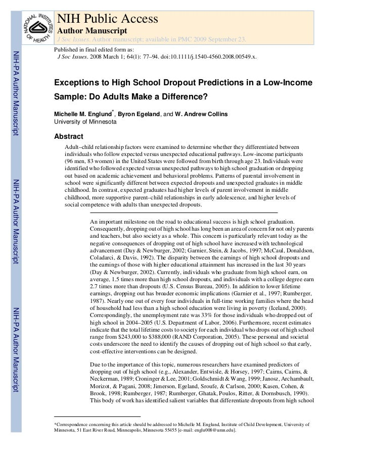NIH Public Access                            Author Manuscript                            J Soc Issues. Author manuscript;...