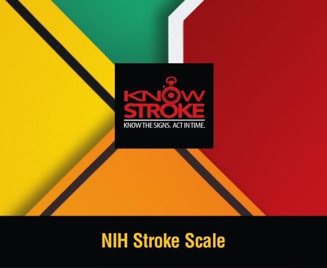 NIH Stroke Scale