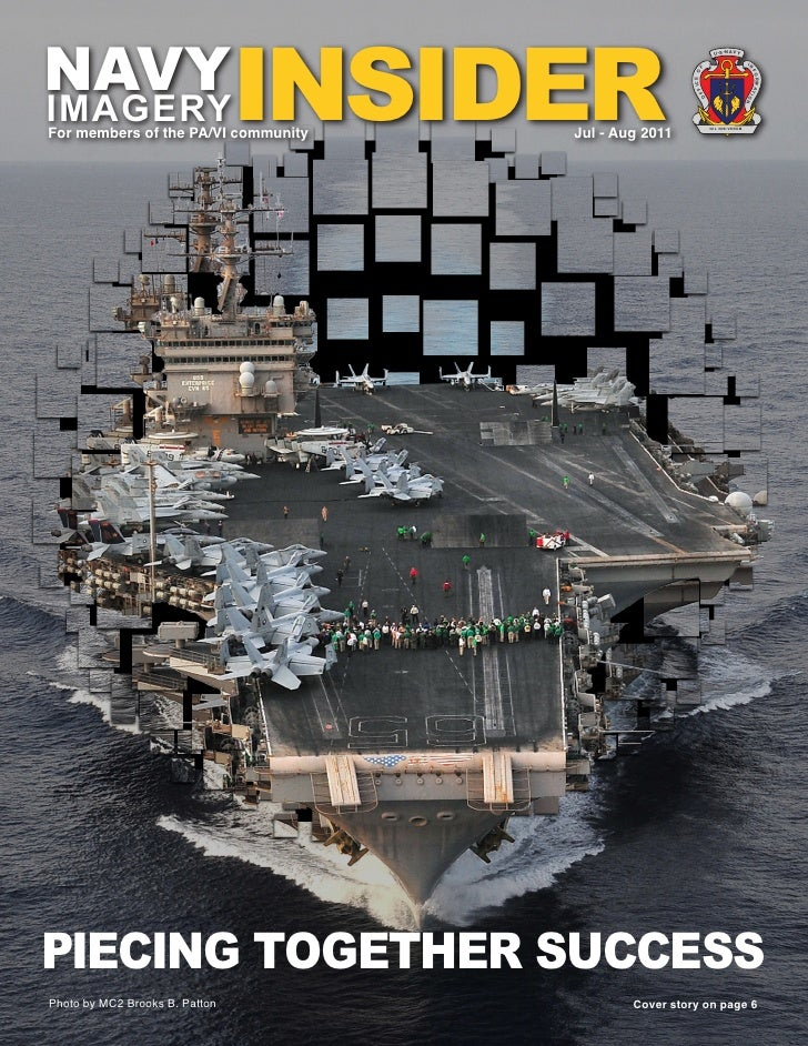 Navy Imagery Insider July-Aug 2011