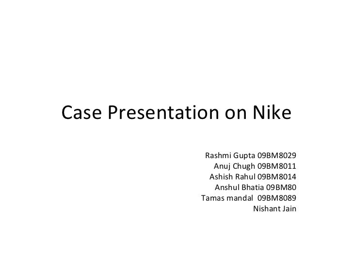 ethics nike case Nike's csr policy - ethical issues and dilemmas print reference this   let us now examine some ethics theories and observe the case of nike in this light [3.