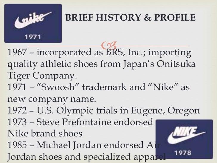 nike company history