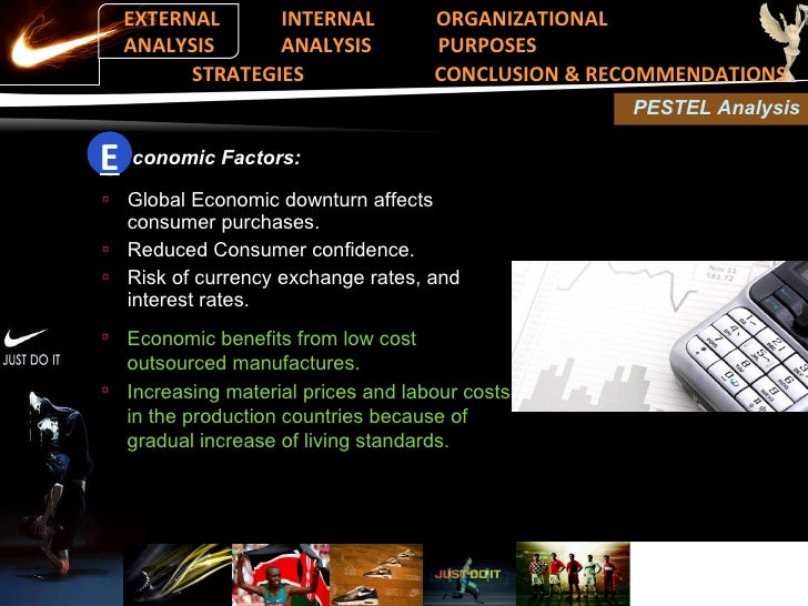nike internal external factors paper This paper covers an economic analysis of nike helps in identifying the impact of economic factors on the provides an economics analysis of nike.