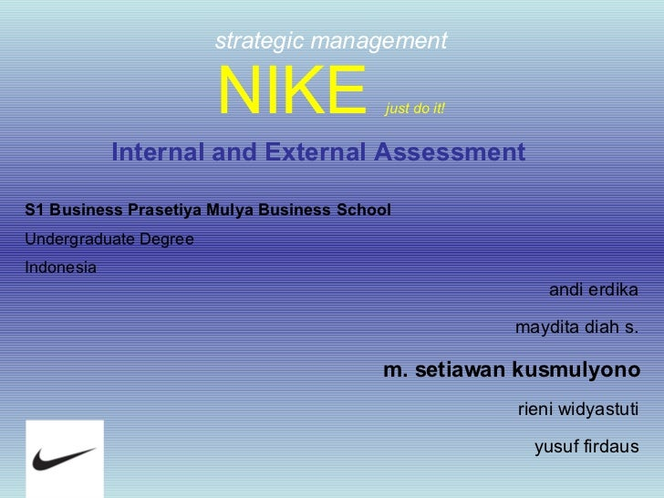 Environmental analysis essay