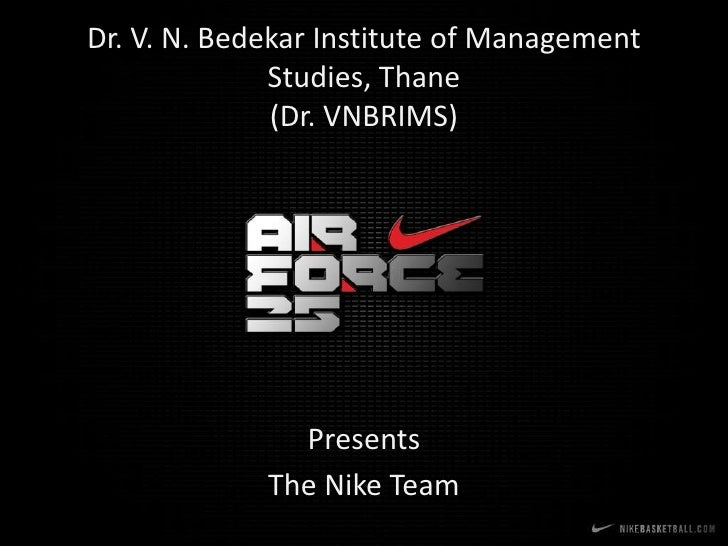 Dr. V. N. Bedekar Institute of Management               Studies, Thane               (Dr. VNBRIMS)                    Pres...