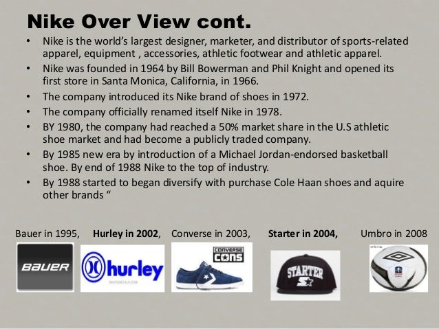 the nike case study