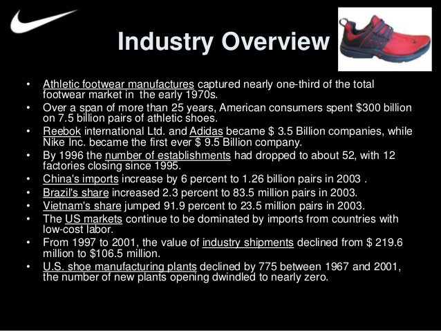 a company profile overview of nike inc We use your linkedin profile and activity data to sports merchandise nikecom is the official website of nike,inc nike ppt.