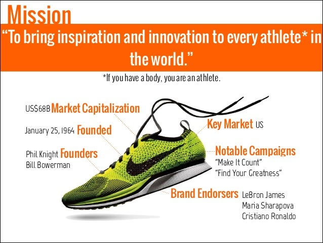 nike inc inspiration and innovation for every athlete